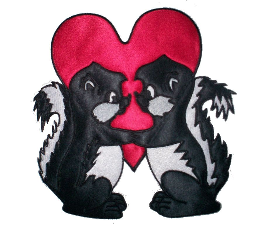 skunk applique